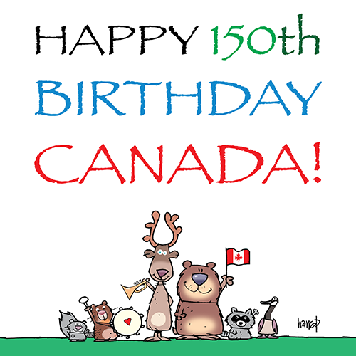 Image result for happy canada 150