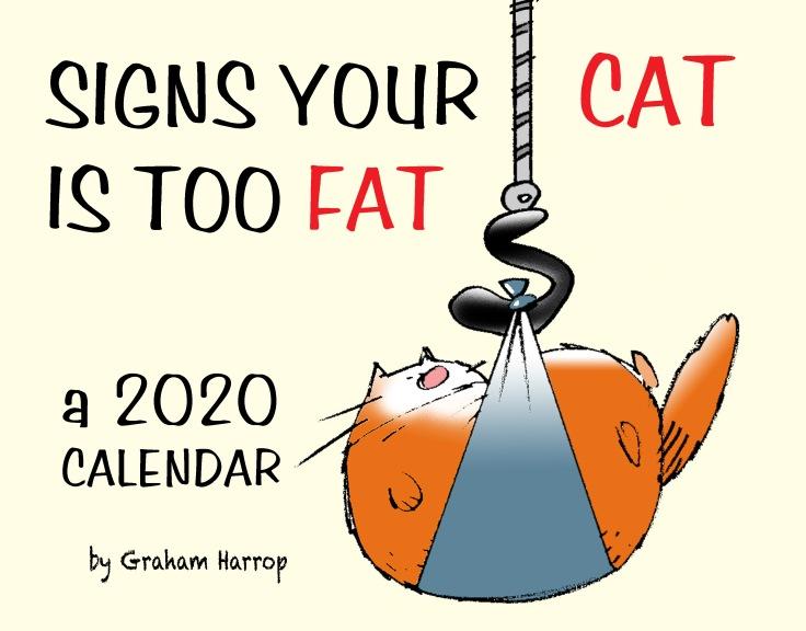 cat calendar cover