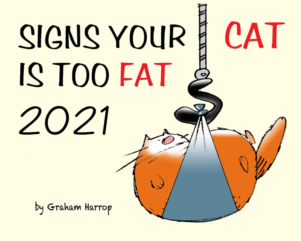 A fun 2021 monthly planner from the creator of the popular TEN CATS comic strip. The purr-fect gift for the cat lover on your list! Part proceeds donated to animal protection organizations